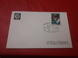 L'Uruguay Fdc Une Coupe FIFA España 1982 - Fußball-Weltmeisterschaft