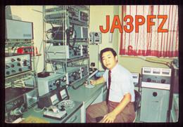 QSL Cards Amateur Radio - Japon 1976 - 53 - Radio Amatoriale