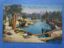 Pont Sur Un Oued , Animée , écrite Au Verso En 1925 - Postcards