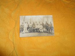 CARTE POSTALE PHOTO ANCIENNE CIRCULEE DE 1920 ECRITE  A SENLIS../ REGIMENT A IDENTIFIER MILITAIRES. - Regiments