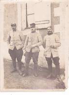 PHOTO De JULES DENIAU De VERNOU (37) Souvenir De La 1ère Guerre Mondiale 1914 1915 1916 ? Chiffre 3 Sur Le Col - Guerre, Militaire