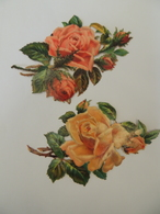 Découpis / Découpi - Bouquet De Roses  Grandes Dimensions  Chromo -  3A3 - Découpis