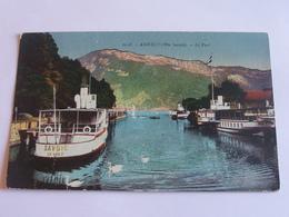 Annecy - Le Port - Colorisée - 1924 - Annecy