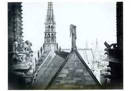 Notre Dame De Paris Nouvelle Flèche De Viollet Le Duc Par Charles Marville - Illustrateurs & Photographes