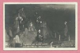 39 - GROTTE Ds NANS - Jura - Carte Photo - Stalactites Et Stalagmites - France