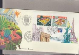 Singapur Michel Cat.No. Sheet 67 Souvenir Cover Special Expo Cls Philex France 99 (9) - Singapur (1959-...)