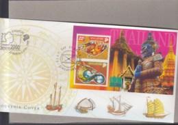 Singapur Michel Cat.No. Sheet 73 Souvenir Cover Special Expo Cls Bangkok 2000 (3) - Singapur (1959-...)