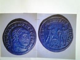 Follis Dmaxence Tête à Dr Rv / Les Dioscures Avec La Louve Allaitant Remus Et Romulus - 5. La Crisis Militar (235 / 284)