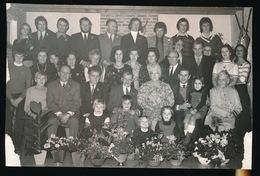 ZOMERGEM  1973 - FOTO 15 X 10 CM - GOUDEN BRUILOFT - Zomergem