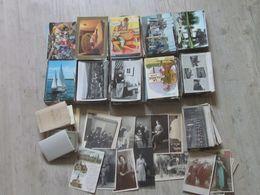 Lot En Vrac De 1100 CP - Cartes Postales