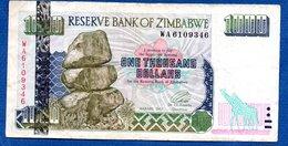 Zimbabwe   -  Lot De 3 Billets - Zimbabwe