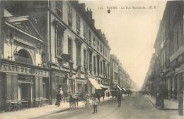 37 TOURS  La Rue Nationale    2scans - Tours