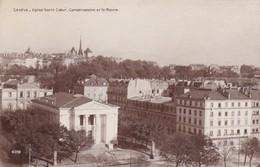 RP: GENEVE - Eglise Sacre Coeur, Conservatoire Et St Peter, Switzerland , 00-10s - GE Ginevra