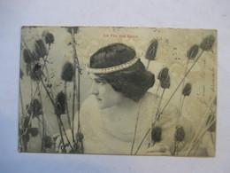 LA FEE DES EAUX            PRECURSEUR  DE 1903     TIMBRE TYPE SAGE    TTB - Fairy Tales, Popular Stories & Legends