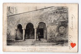 00025-LE-ITALIE-Badia Di Pomposa-CIDIGORO (Ferrara)-Ove Guido Monaco Invento Le Note Musicali------------animée - Ferrara