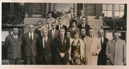 ROESELARE   1973 - FOTO 16 X 19 CM - BELGISCHE BILJARTKAMPIOEN TE ROESELARE - Roeselare