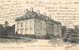 CPA 56 Morbihan Bretagne Sarzeau Le Château De Kerlevenan Précurseur Circulé 1902 Collection David Cliché Le Merle 69 - Sarzeau