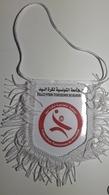 Pennant TUNISIA Handball Federation Association Flag 13x13cm - Handball