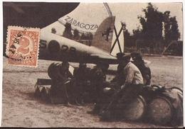 FAUX, España, Aviación Republicana Zaragoza - Erinofilia