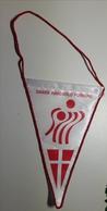 Pennant DENMARK Handball Federation Association Flag Dansk Handbold Forbund 12x17cm - Handball