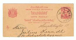 1845-643  Marque Postale Thailande Bangkok  Datée 13-10-92 Ou 97 La Vente Sera Retirée Définitivement Le 25-11 - Tailandia