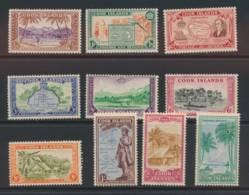 COOK ISLANDS, 1949 Set Complete Fine MNH, Cat £59 - Cookeilanden