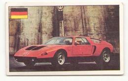 IMAGE L HISTOIRE DE L AUTOMOBILE N° 123 MERCEDES TYPE C 111 ALLEMAGNE - Stickers