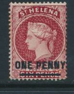 ST HELENA, 1864 1d P14 Wmk Crown CC Very Fine Mint, SG27, Cat £120 - Sint-Helena