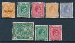 ST KITTS, 8 UM Stamps - St.Christopher-Nevis-Anguilla (...-1980)