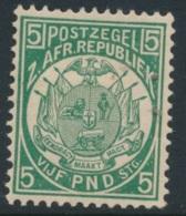 TRANSVAAL, 1885 £5 Green, Reprint Very Fine MM, SG187 - Zuid-Afrika (...-1961)