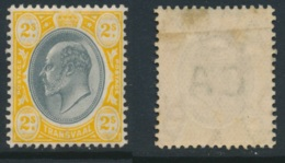 TRANSVAAL, 1904 2/- Black & Yellow (wmk Mult.Crown CA) Very Fine MM, Cat £29 - Zuid-Afrika (...-1961)
