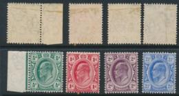 TRANSVAAL, 1905 Set Complete Very Fine MM, Cat £34 - Zuid-Afrika (...-1961)