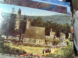 EIRE  GLENDALOUGH Wicklow St. Kevin's Church Round Tower  STAMP TIMBRE SELO 1957 O CRIOMCAM 2 P GX5516 - Wicklow