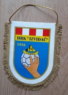 Pennant Handball Club HRK Ljubuski Izvidac 1956 Croatia 19.5 X 23 Cm - Handball