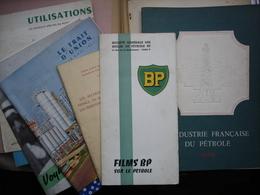 PETROLE BP  Gros Lot De Documents Sur Le Petrole De 1950 -1952 - Sciences & Technique