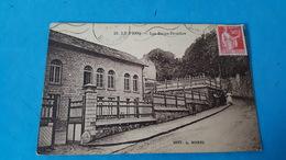 Rare Cpa Les Bains  Douches - Le Pecq