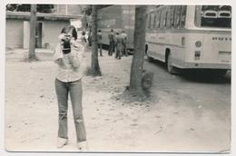 REAL PHOTO, Girl With Camera,takes Photos, Fille Photographie , Old Photo ORIGINAL - Sin Clasificación
