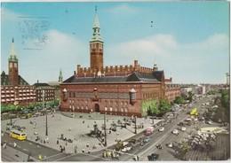 KOBENHAVN, COPENHAGEN, Denmark, Radhuspladsen, Town-Hall Square, Used Postcard [22161] - Denmark