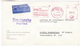 K78 Germany Red Meter Freistempel EMA 1982 Neugersdorf Combinaison De Coton Kombinat Baumwolle - Textile