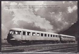 AUTOMOTRICI FIAT PER SERVIZI RAPIDI  1933 - Trains