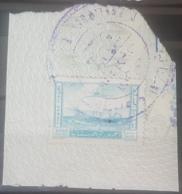 NO11 - Lebanon1957 1000p Fiscal Revenue Stamp (J. SAIKALI) Turquoise - Lebanon