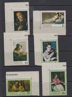 Burundi 1968 Paintings 6v (corners)  ** Mnh (41265) - Burundi