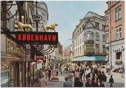 KOBENHAVN, COPENHAGEN, Denmark, STROGET, STROJET, Pedestrian Street, 1976 Used Postcard [22164] - Denmark