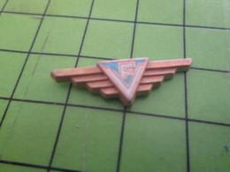 918c Pin's Pins / Belle Qualité Et Rare  / THEME AVIATION : LETTRES F ET V EN RAPPORT AVEC L'AVIATION - Airplanes