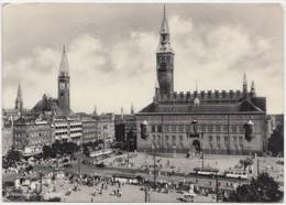 KOBENHAVN, COPENHAGEN, Radhuset, Town-Hall, 1956 Used Postcard [22166] - Denmark