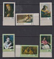 Burundi 1968 Paintings 6v ** Mnh (+margin) (41265A) - Burundi