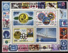 URUGUAY  BF  * *  Cup 1978   Football Soccer Fussball Stade Espace Apollo Satellite Jo Alfred Nobel - 1978 – Argentina