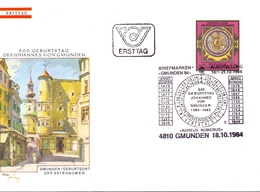 FDC SHAKESPEARE FESTIVAL COVER  AUSTRIA 1964 (NOV180037) - Astrologia