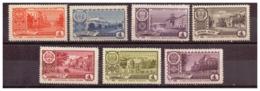 URSS662) 1961 - Serietta Capitali Rep.che Autonome Sovietiche -Unificato 2415-21 7 Val.MNH** - Nuovi