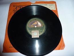 Disque Cie Fse Du GRAMOPHONE La Voix De Son Maître - Harry Weber - 78 Rpm - Schellackplatten